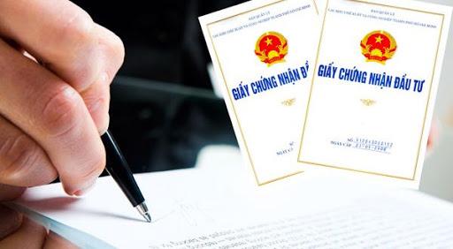 Thủ tục cấp giấy chứng nhận đầu tư dự án