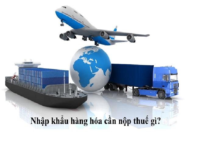 Nhập khẩu hàng hóa vào Việt Nam cần nộp những loại thuế nào?