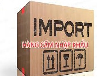 Những sản phẩm hàng hóa cấm nhập khẩu mới nhất
