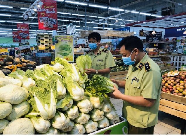 xử phạt đối với siêu thị không có giấy chứng nhận an toan thực phẩm