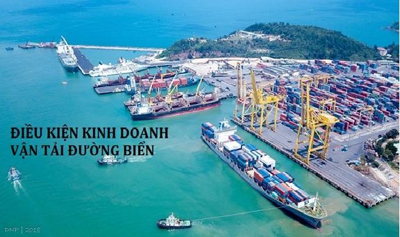 Điều kiện kinh doanh vận tải đường biển